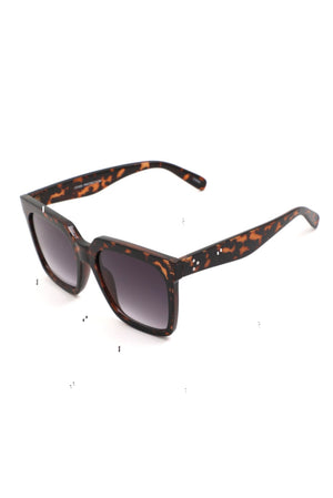 Load image into Gallery viewer, Tortoise Shell Square Frame Sunglasses