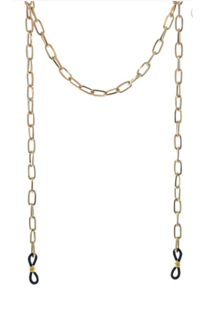 Gold Chain Link Sunglasses Chain