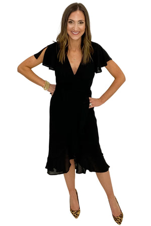 Load image into Gallery viewer, black-wrap-dress-little-black-dress-shop-style-your-senses