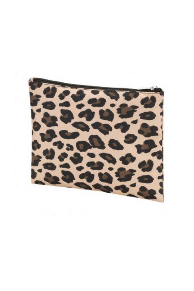 Animal Print Zip Pouch