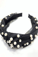 headband, head band, pearl headband, black headband, game day headband, game day accessories, style your senses