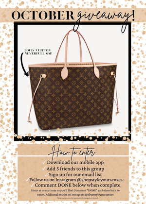 Load image into Gallery viewer, LV NEVERFULL GM GIVEAWAY