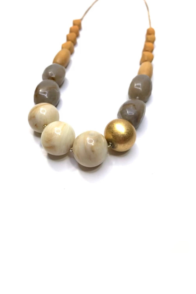 necklace, natural wood, wooden necklace, mixed materials, long necklace, stone necklace, gold chain, new arrivals