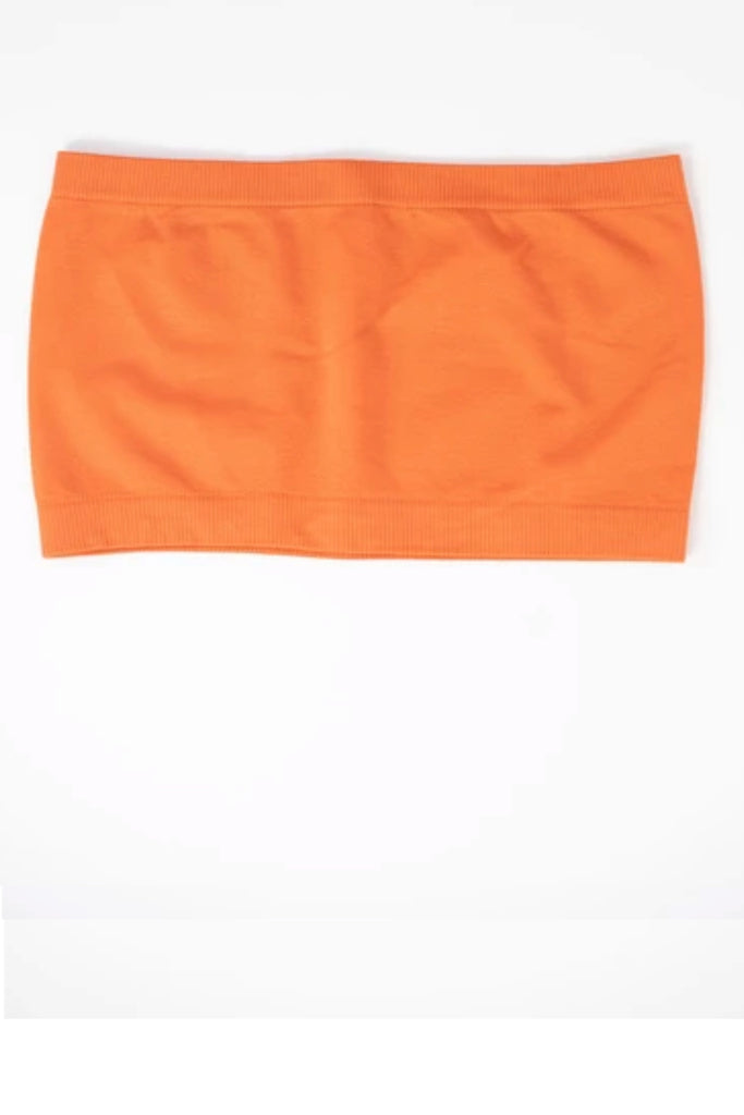 Orange Seamless Bandeau