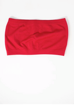 Red Seamless Bandeau