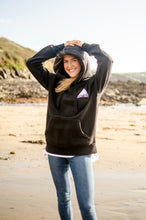 Load image into Gallery viewer, BLACK CHAMBOIS KENTING HOODIE
