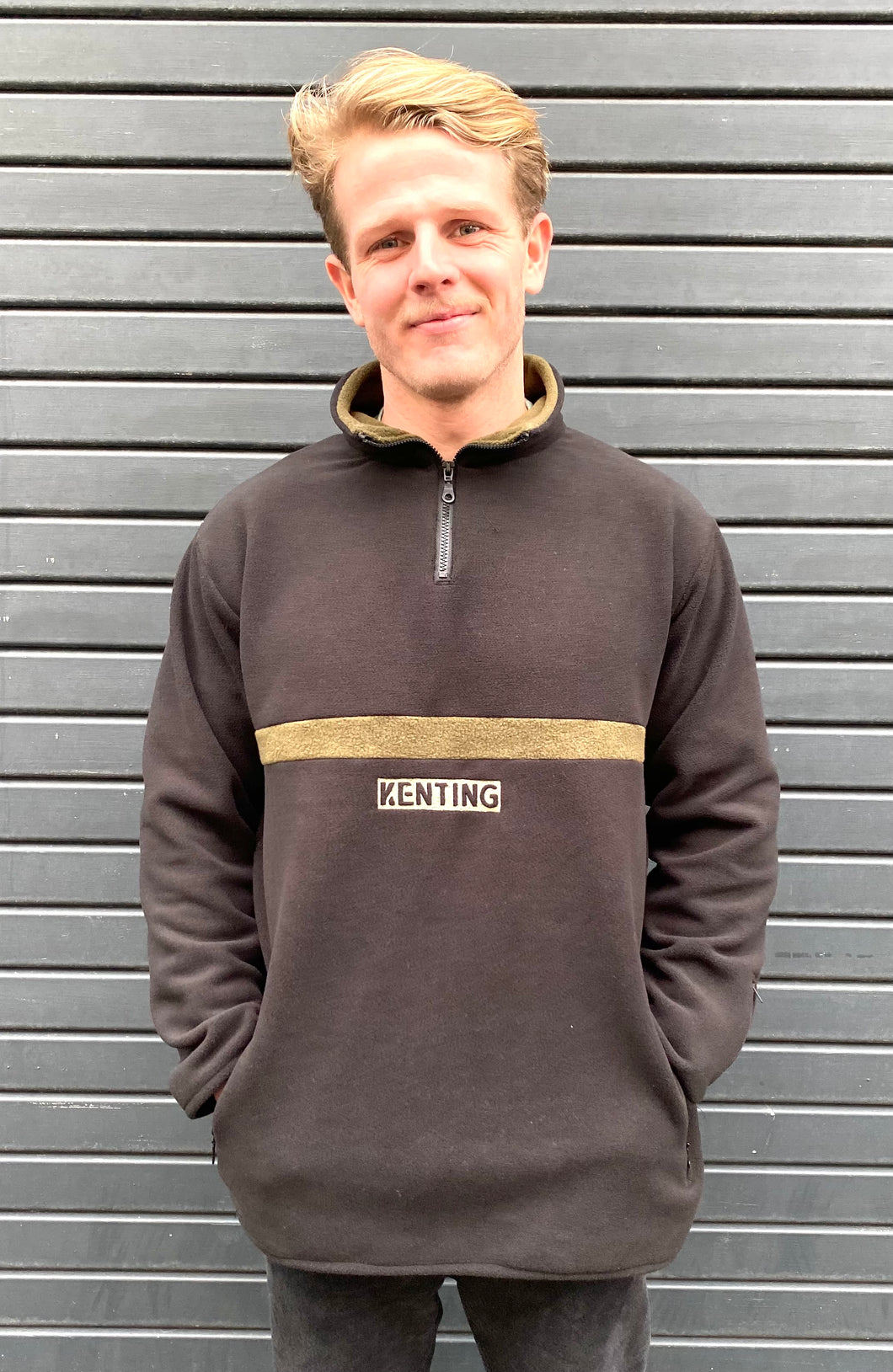 LIMITED EDITION RECYCLED 1/4 FLEECE