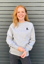 Load image into Gallery viewer, K. GREY CREW NECK