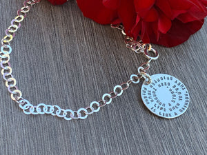Sterling Silver Friendship Bracelet