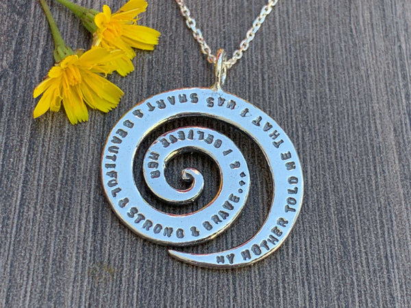 Sterling Silver Daughter Necklace