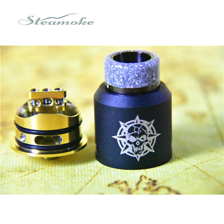 Pirate king 24mm RDA classical paint version