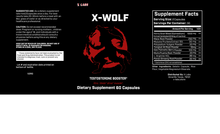 Load image into Gallery viewer, X-Wolf Testosterone Booster