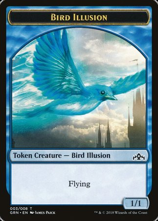 Bird Illusion Token [Guilds of Ravnica Tokens] | Game Theory