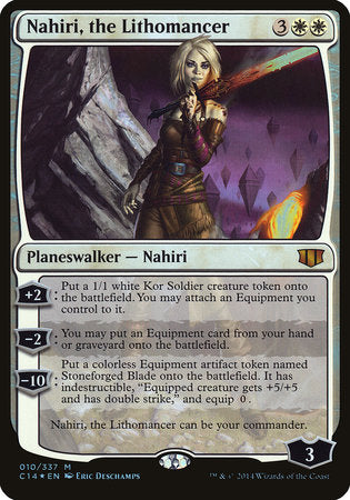 Nahiri, the Lithomancer (Commander 2014) [Commander 2014 Oversized] | Game Theory