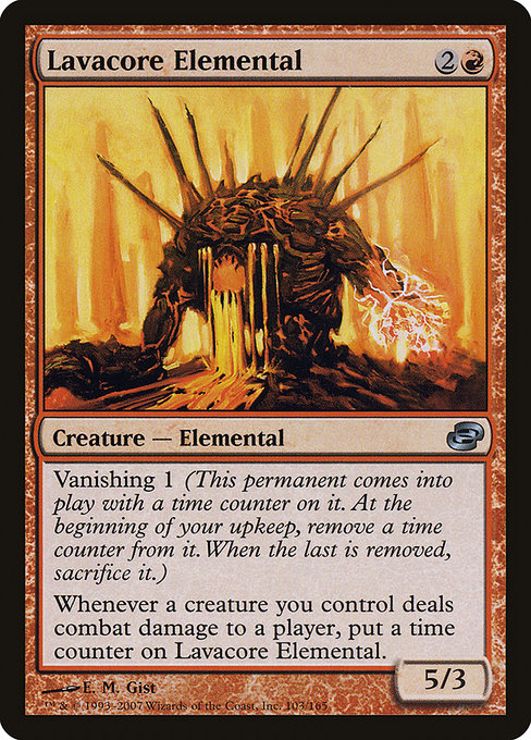 Lavacore Elemental [Planar Chaos] | Game Theory