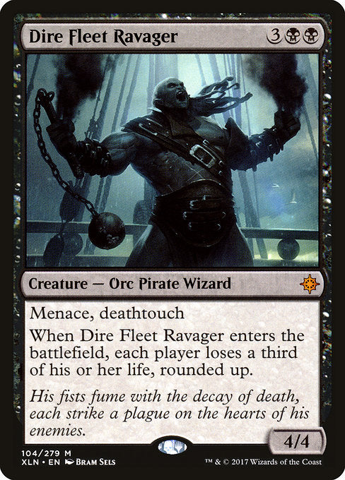 Dire Fleet Ravager [Ixalan] | Game Theory