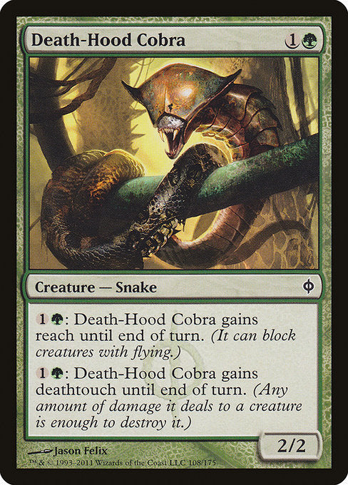 Death-Hood Cobra [New Phyrexia] | Game Theory