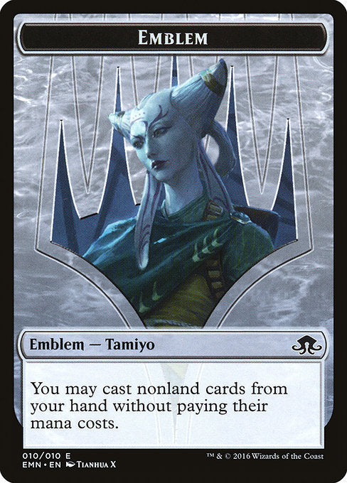 Tamiyo, Field Researcher Emblem [Eldritch Moon Tokens] | Game Theory
