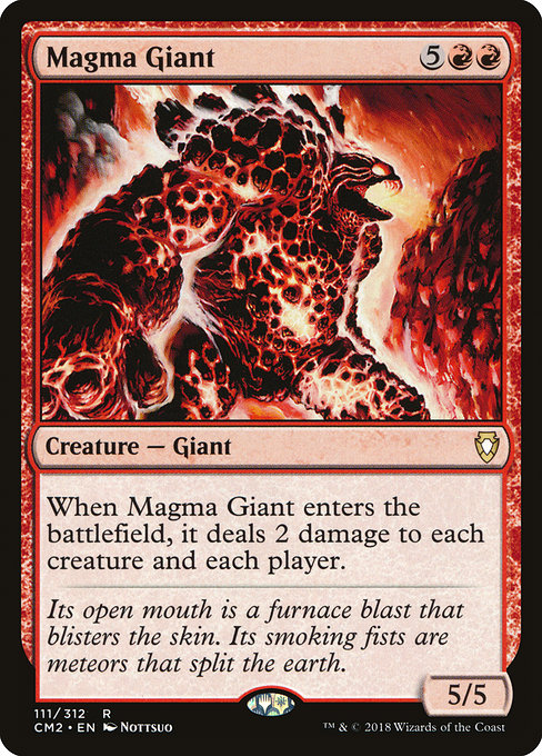 Magma Giant [Commander Anthology Volume II] | Game Theory
