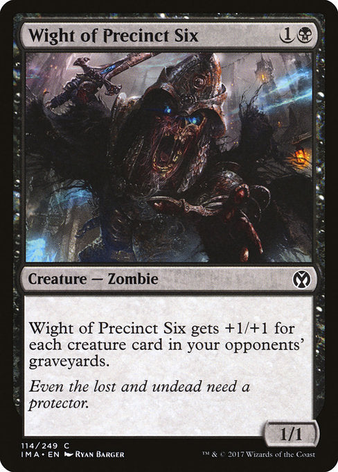 Wight of Precinct Six [Iconic Masters] | Game Theory