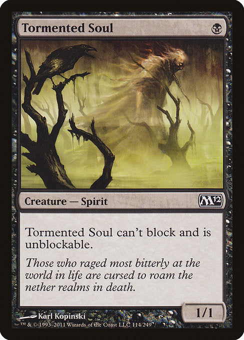 Tormented Soul [Magic 2012] | Game Theory