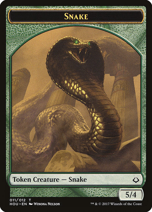 Snake [Hour of Devastation Tokens] | Game Theory