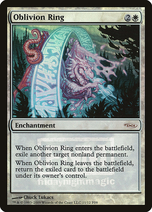 Oblivion Ring [Friday Night Magic 2009] | Game Theory