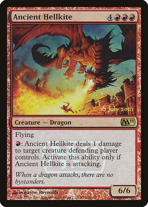 Ancient Hellkite [Magic 2011 Promos] | Game Theory