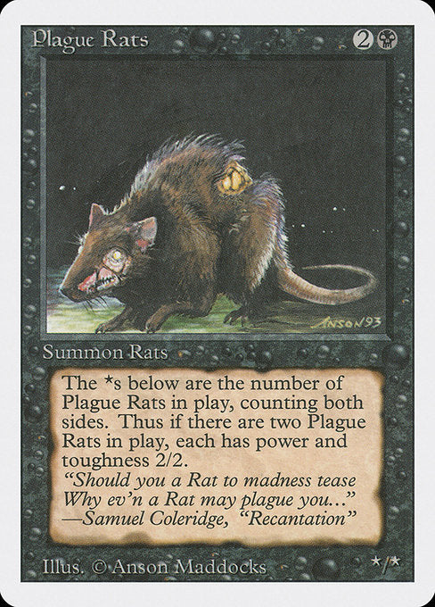 Plague Rats [Revised Edition] | Game Theory