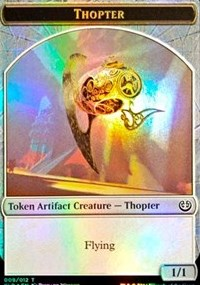 Thopter // Servo Double-sided Token [League Promos] | Game Theory