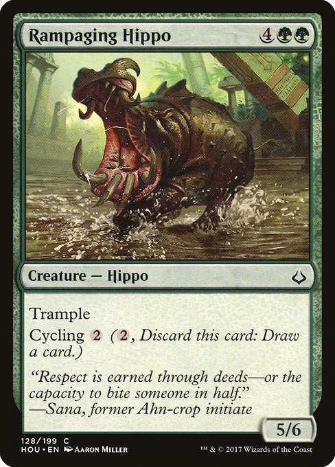 Rampaging Hippo [Hour of Devastation] | Game Theory