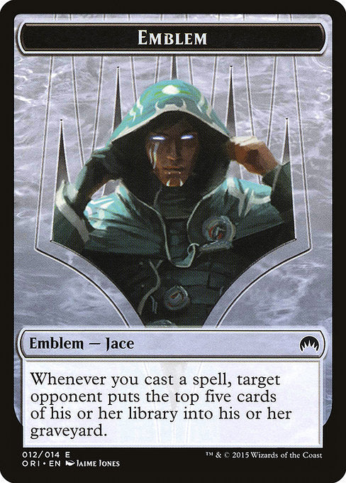 Jace, Telepath Unbound Emblem [Magic Origins Tokens] | Game Theory
