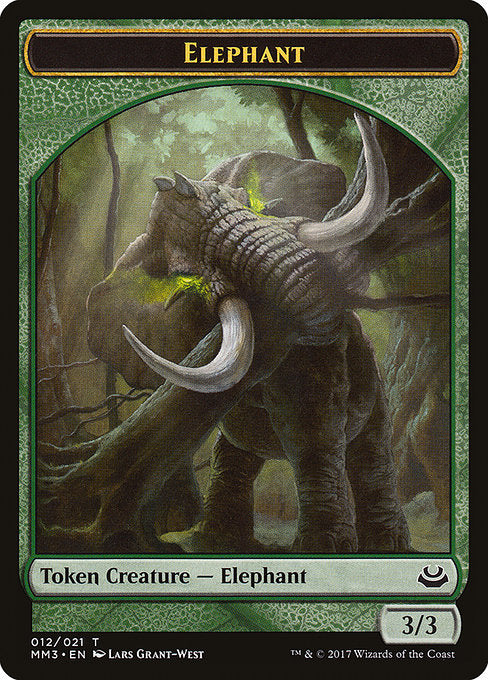 Elephant [Modern Masters 2017 Tokens] | Game Theory