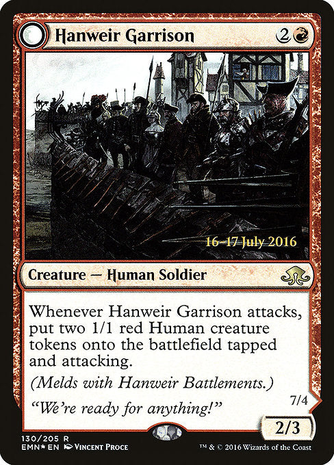 Hanweir Garrison [Eldritch Moon Promos] | Game Theory