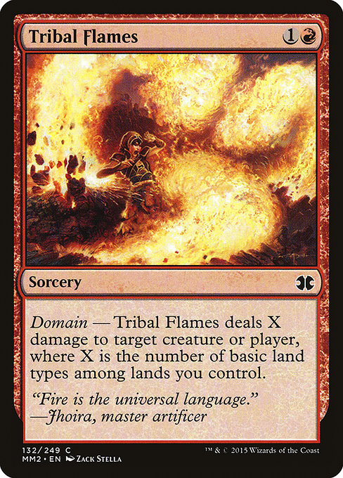 Tribal Flames [Modern Masters 2015] | Game Theory