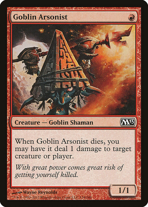 Goblin Arsonist [Magic 2013] | Game Theory