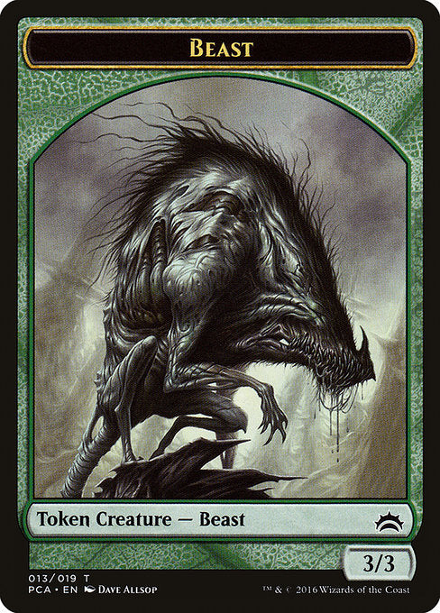 Beast [Planechase Anthology Tokens] | Game Theory