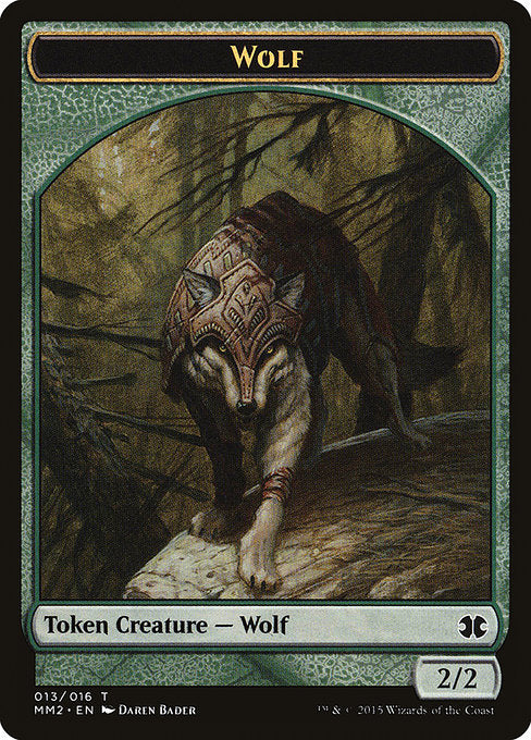 Wolf [Modern Masters 2015 Tokens] | Game Theory
