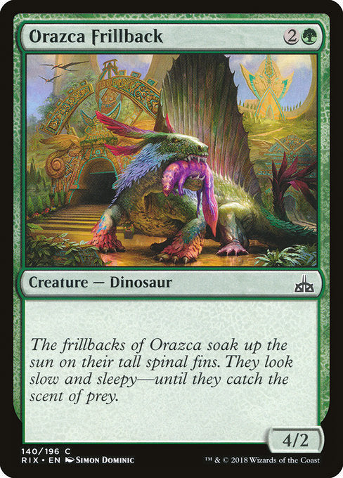 Orazca Frillback [Rivals of Ixalan] | Game Theory