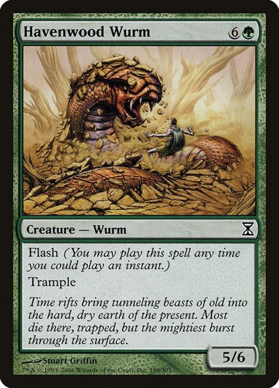 Havenwood Wurm [Time Spiral] | Game Theory
