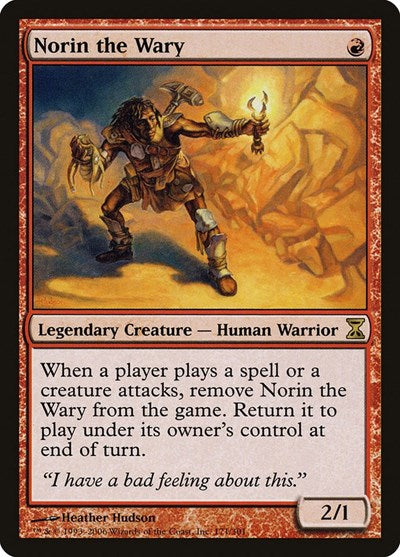 Norin the Wary [Time Spiral] | Game Theory