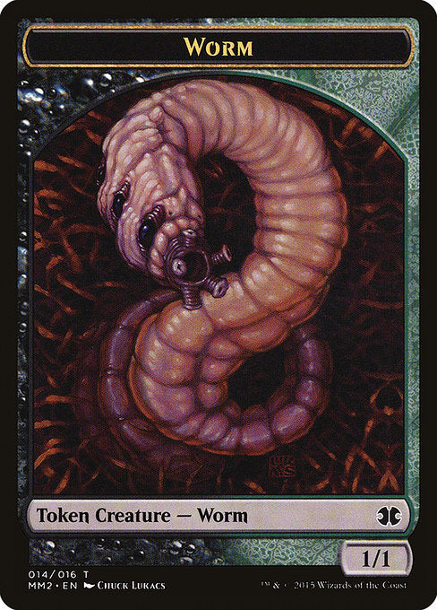 Worm [Modern Masters 2015 Tokens] | Game Theory