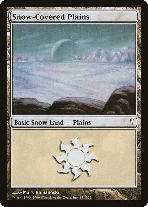 Snow-Covered Plains [Coldsnap] | Game Theory