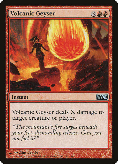 Volcanic Geyser [Magic 2013] | Game Theory