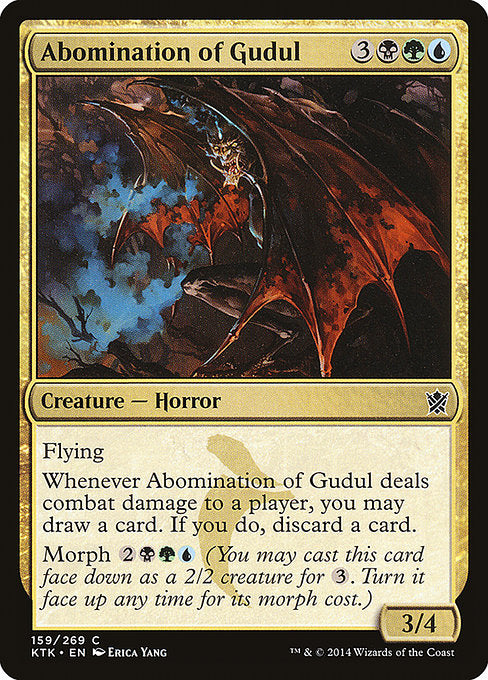 Abomination of Gudul [Khans of Tarkir] | Game Theory