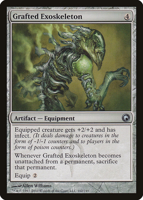 Grafted Exoskeleton [Scars of Mirrodin] | Game Theory