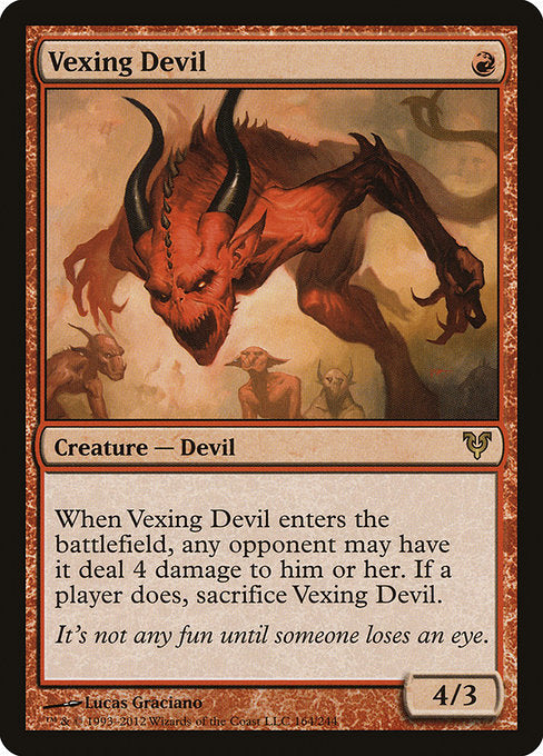 Vexing Devil [Avacyn Restored] | Game Theory