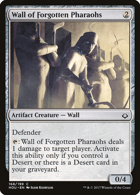Wall of Forgotten Pharaohs [Hour of Devastation] | Game Theory