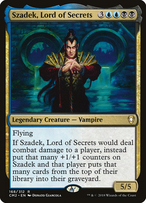 Szadek, Lord of Secrets [Commander Anthology Volume II] | Game Theory