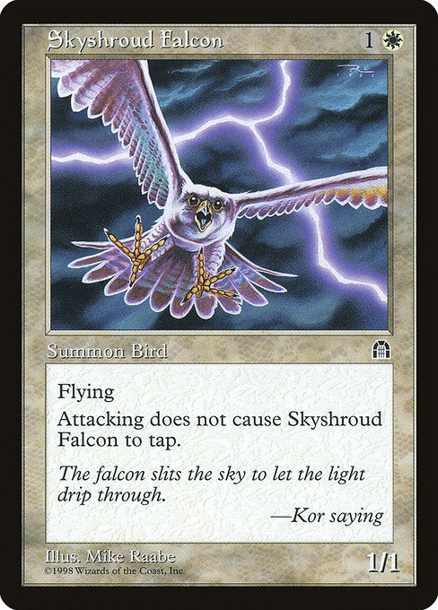 Skyshroud Falcon [Stronghold] | Game Theory